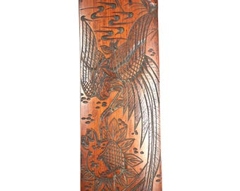 Antique 19th Century Japanese Meiji Period1868-1912 bamboo page turner