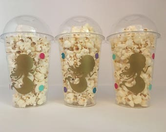 Mermaid Party Favor Cups