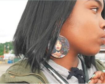 Erykah Badu Earrings