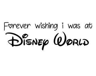 A4 'Wishing of Disney World' Print