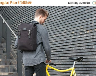 30% SALE Backpack / Rucksack / Bike Bag / Cycle Bag / Canvas Backpack / Canvas Rucksack