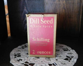 Vintage Schilling Dill Seed