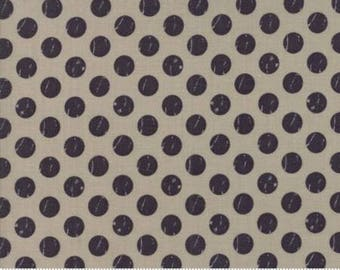 1 Yard Farmers Daughter by By Vanessa Goertzen of Lella Boutique for Moda- 5055-13 Shabby Dot Taupe