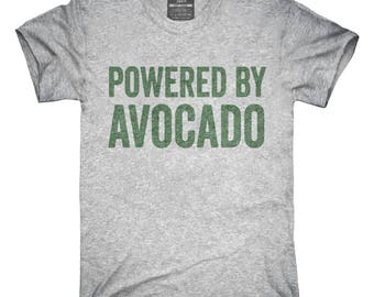 Powered By Avocado T-Shirt, Hoodie, Tank Top, Gifts