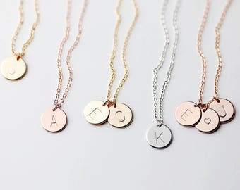 Disc Charm Necklace Best selling Items Family Tree Necklace Personalized Charm Christmas gifts for mom - CN