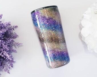 Glitter Tumbler - Swirl Tumbler - Ozark Trail - Tumbler - Monogram Cup - personalized Tumbler -Coffee tumbler - coffee cup -Glitter Yeti