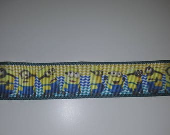 Ribbon minions 25mm sold by the yard