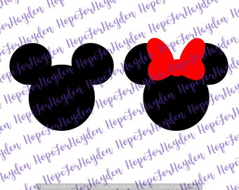 Mickey Minnie SVG | Mickey Minnie Mouse SVG | Disney SVG