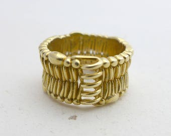 Cell Membrane Ring - Science Jewelry