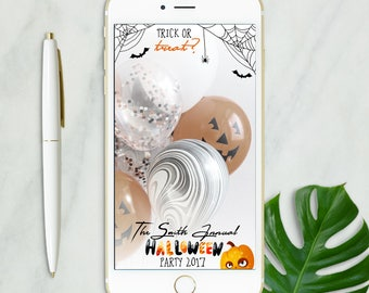 Halloween Snapchat Geofilter, Halloween Snapchat filter, Halloween Party Decoration, Halloween Party Filter, Haunted Halloween Party