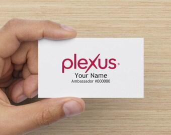Plexus Simple Business Card Standard Matte