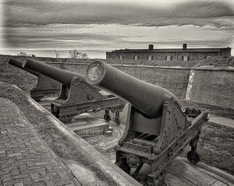 Fort McHenery Cannons Fine Art Print.