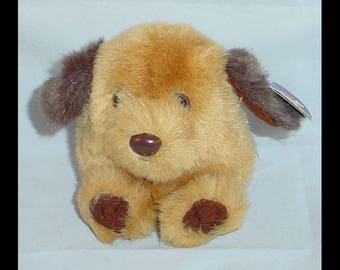 Puffkins Fetch the Dog 1997 Plush with Tags