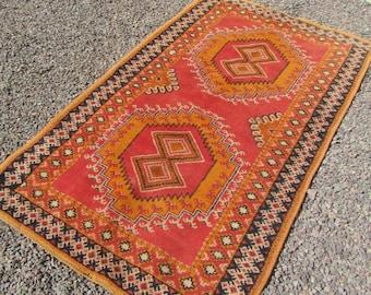 vintage moroccan rug small rug moroccan rugs morocco rug berber carpet area rug tribal rug 3x5