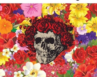 Grateful Dead Bertha Garden Flag