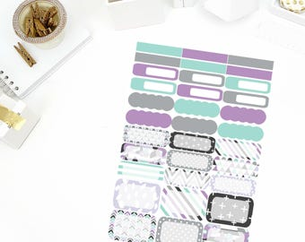 August Blossom Functional Stickers! Perfect for your Erin Condren Life Planner, calendar, Paper Plum, Filofax!