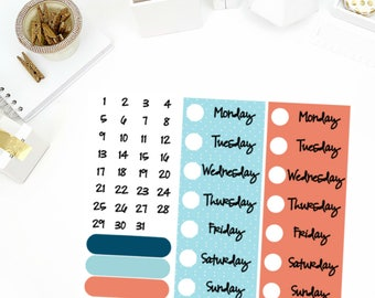 Cozy Fire Date Cover Up Stickers! Perfect for your Erin Condren Life Planner, calendar, Paper Plum, Filofax!