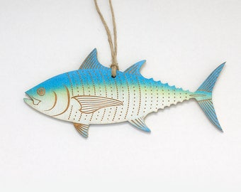 Bluefin Tuna Christmas Ornament