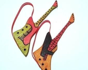 Decorative guitars