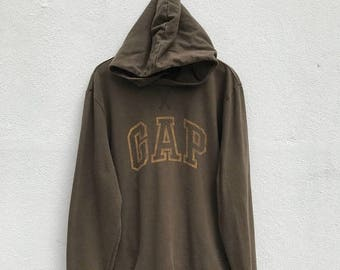 20% OFF Vintage GAP Hoodie Sweater / Gap Sweatshirt / Hoodie Pullover / Big logo / Casual Clothing