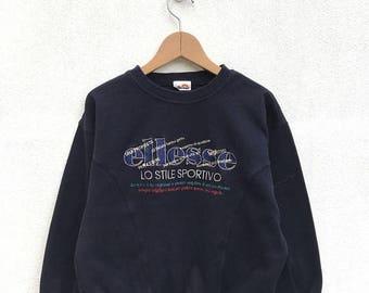 20% OFF Vintage Ellesse Women Sweatshirt/Casual Shirt/Ellesse Sweater/Ellesse Tennis Shirt/Ellesse Sportwear