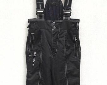 20% OFF Vintage Bogner Black Ski Pants With Suspenders in Size 29-30 inches