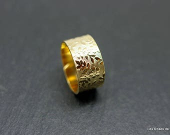 ring adjustable gold