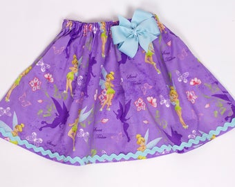 Girl skirt, Tinker Bell skirt , Princess skirt, school girl skirt,  Girl Skirt,  Girl birthday skit,  baby Skirt , Toddle  skirt, Skirts