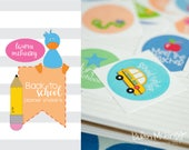 Back to School Stickers for Planners. Planner Stickers.