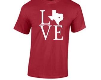 I love Texas Aggies T Shirt