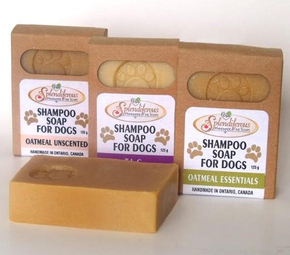Dog Shampoo Soap, natural dog soap, natural dog shampoo