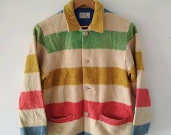 Rare Vintage benetton Sweater Jacket Size M