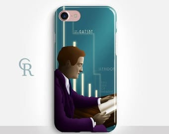 Fitzgerald iPhone 7 Case For iPhone 8 iPhone 8 Plus - iPhone X - iPhone 7 Plus - iPhone 6 - iPhone 6S - iPhone SE - Samsung S8 - iPhone 5