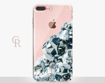 Crystal iPhone X Case Clear  - Clear Case - For iPhone 8 - iPhone X - iPhone 7 Plus - iPhone 6 - iPhone 6S - iPhone SE Transparent