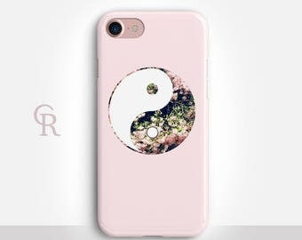 Yin-Yang iPhone 7 Case For iPhone 8 iPhone 8 Plus - iPhone X - iPhone 7 Plus - iPhone 6 - iPhone 6S - iPhone SE - Samsung S8 - iPhone 5