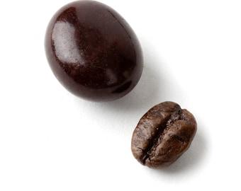 Espresso Coffee Pralines (Espresso Coffee Bean Filled Dark Chocolate) Candy