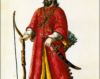 Poster, Many Sizes Available; Marco Polo Tartar Costume