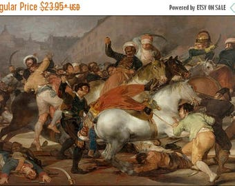 40% OFF SALE Poster, Many Sizes Available; Charge Of The Mamelukes By Francisco De Goya