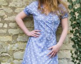 Fair Trade Festival Wrap Dress Size L(12-14)