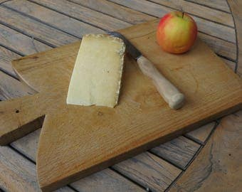 French vintage chopping board // French cheese board // Vintage cheese or chopping board // Butchers chopping board