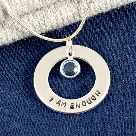 mental health awareness necklace gift