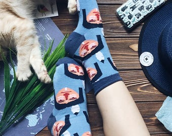 Namito Blue Socks for Men and Women