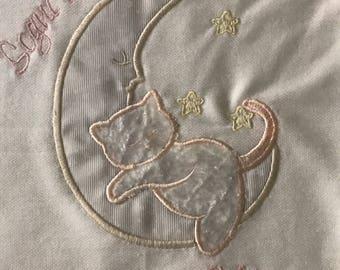 Coperta culla in pile imbottita con ricamo personalizzato, trattiene il caldo ed è traspirante, ideale per i neonati da regalare a Natale
