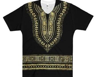 GoopClothes Men's Dashiki  V-Neck T-Shirt