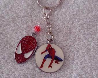 Keychain or handbag Spiderman