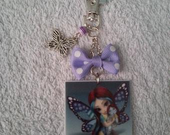 Keychain or handbag fairy