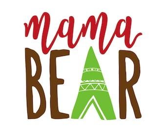 Mama Bear Decal No. 1
