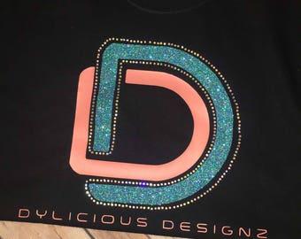 Dylicious Designz Logo tee