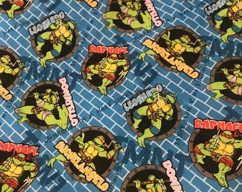 Teenage Mutant Ninja Turtle Fabric