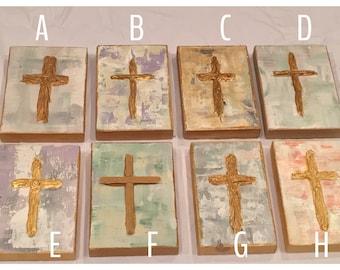Handpainted Cross